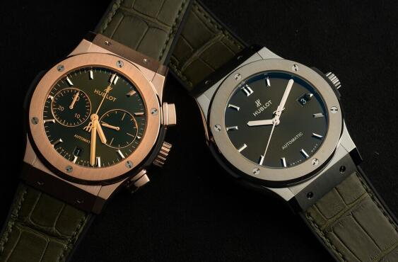 How About Hublot Classic Fusion Grey Disc Replica Watch?