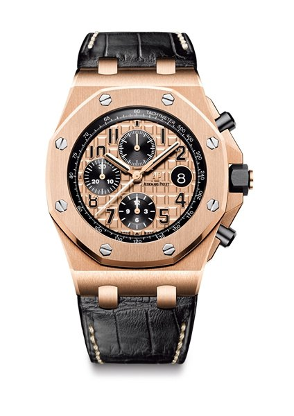 The Audemars Piguet Replica Watch's Case Is Made Of Forged Carbo