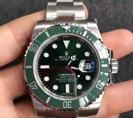 Rolex Submariner High-Quality Replica Watch True And False Contrast